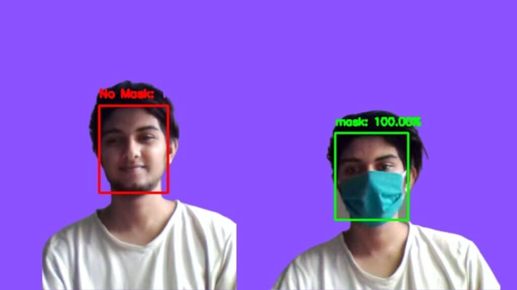 Face Mask Detection using OpenCV