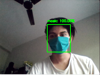 realtime face mask detection