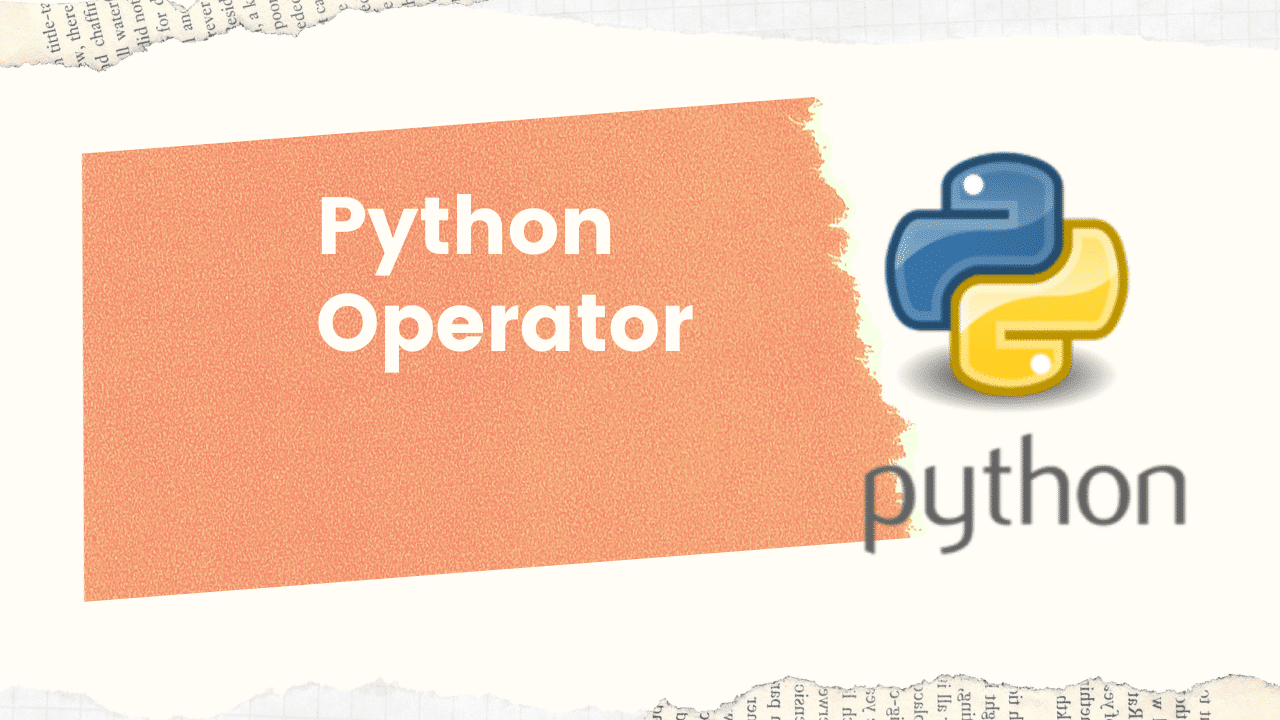 types of operators in python